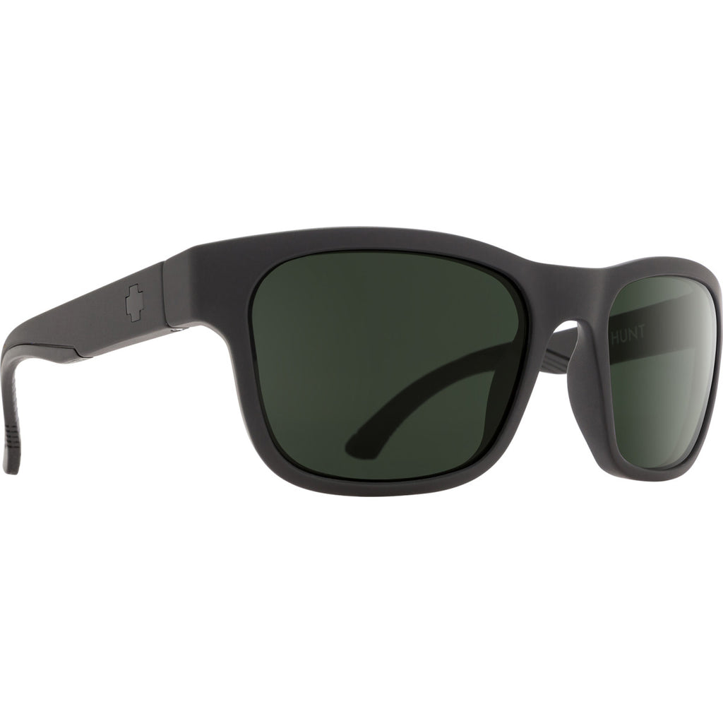 Hunt Matte Black - HD Plus Gray Green
