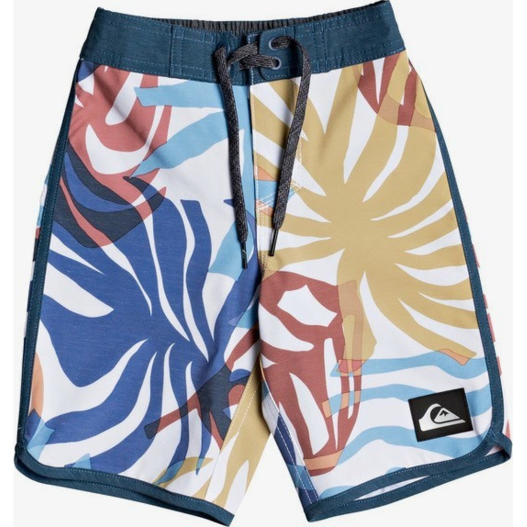"Boys 2-7 Highline Vacancy Scallop 14"" Boardshorts"