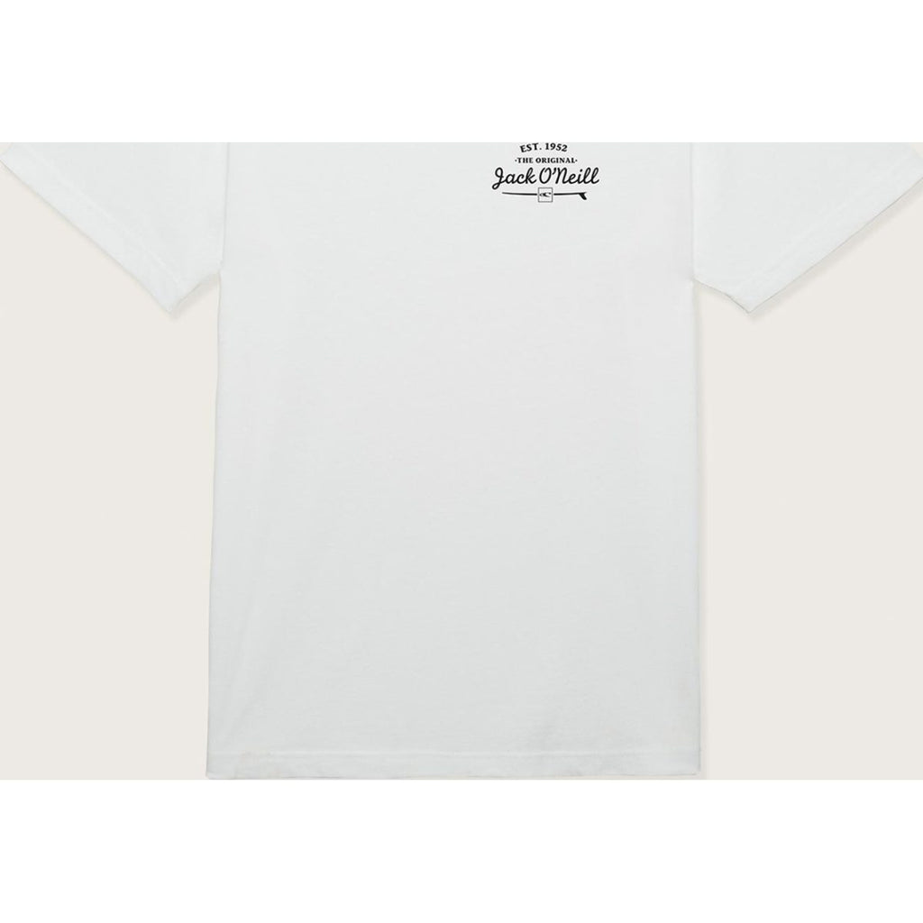 S/S SCREEN TEE EGG
