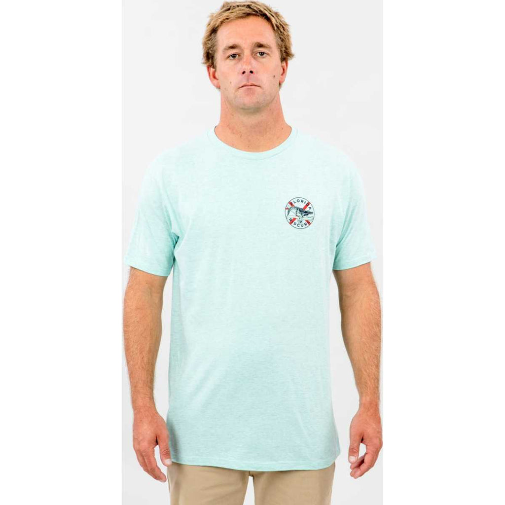 Gator Crawl Premium Tee in White