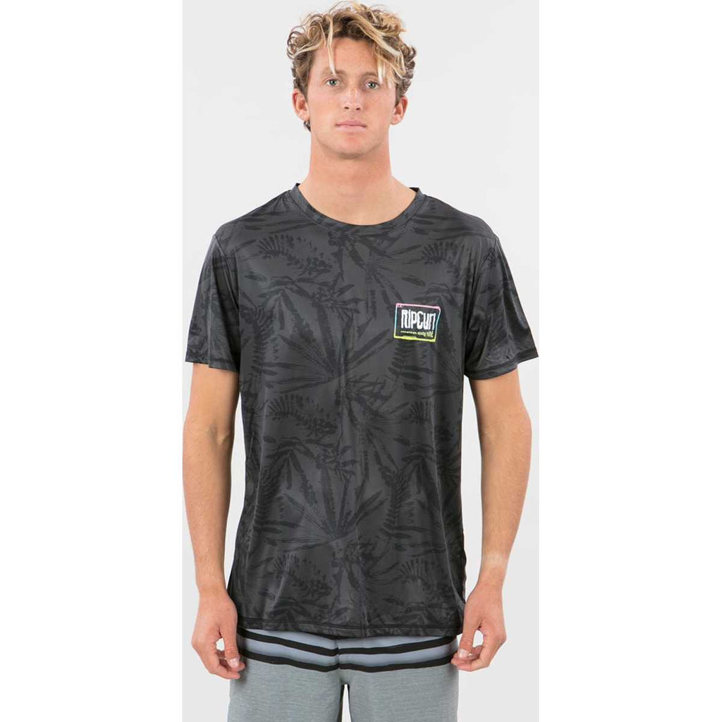 Native Revo Short Sleeve Surf Tee in Black
