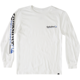 BOYS CHECK YO SELF LONG SLEEVE BU1 TEE