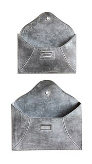 Galvanized Metal Wall Pockets