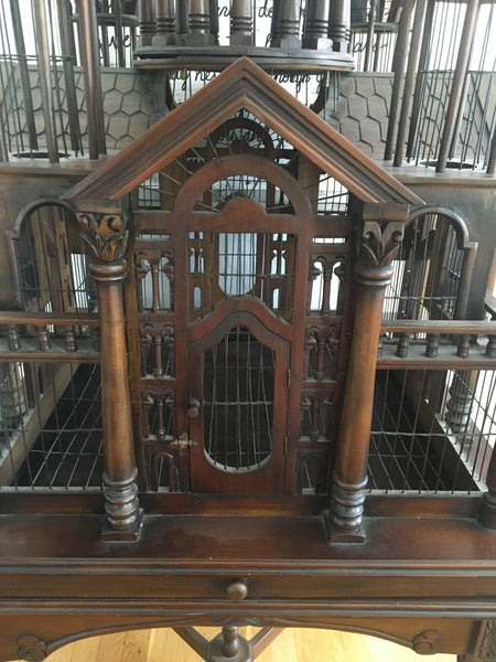 Vintage Victorian Birdcage Table