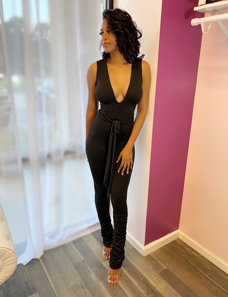 Out Going Jumpsuit (Black)