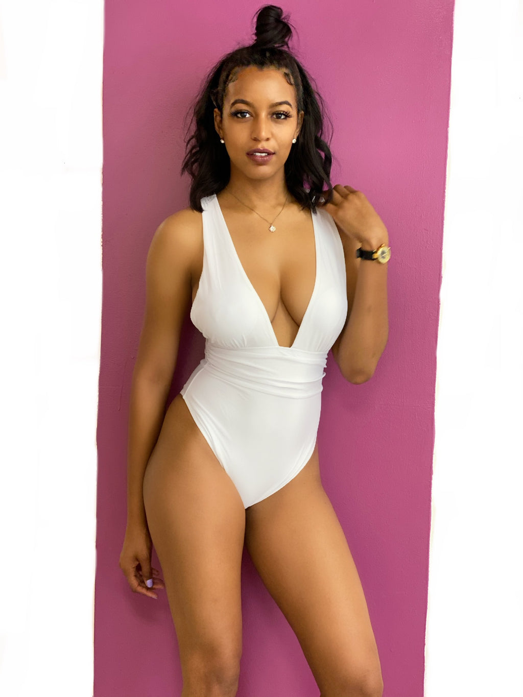 Valeria One Piece: White
