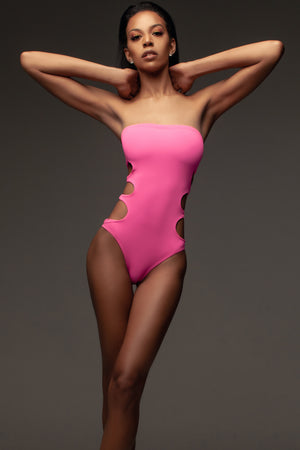 Chloe One Piece: Pink