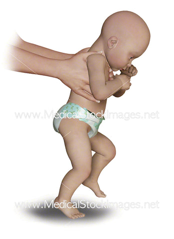 Child Pose Primitive Walking Reflex