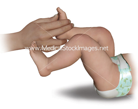 Child Pose Foot Grip Reflex