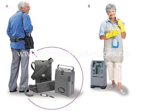 Oxygen Concentrator for Home Patients
