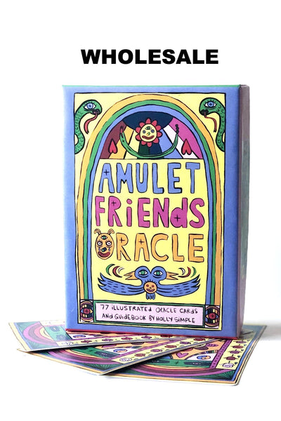 WS * AMULET FRIENDS ORACLE DECK & BOOK