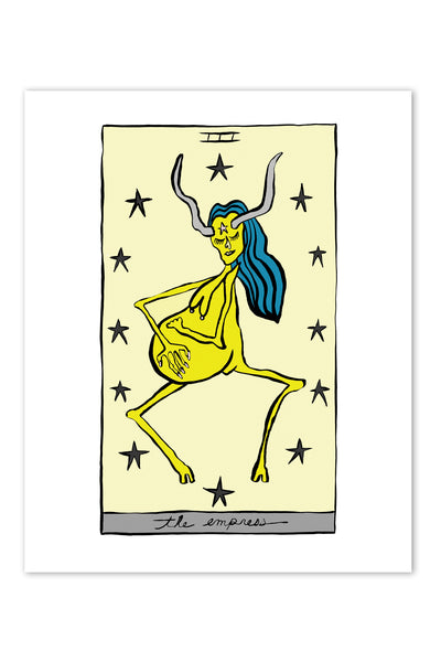 HOLLY SIMPLE TAROT | THE EMPRESS | 8 X 10 PRINT