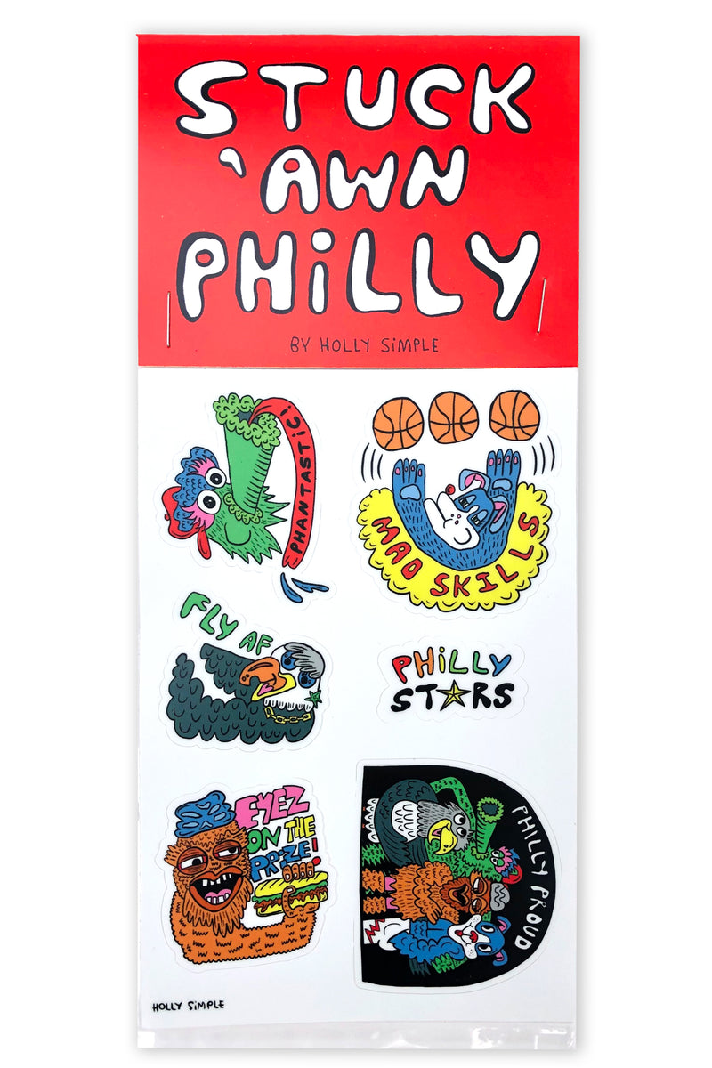 PHILLY STARS STICKER PACK