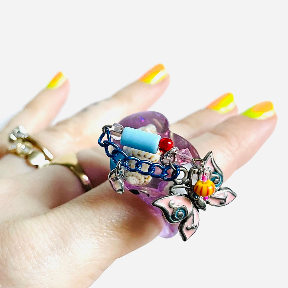 TRASHÉ CLUMP RING | SUMMER FLUTTER