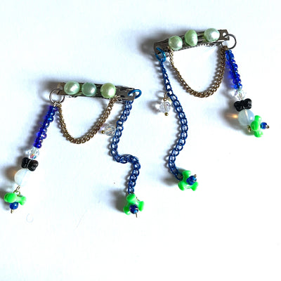 "TRASHÉ HAIR CLIPS ""OCEAN DREAMZ""