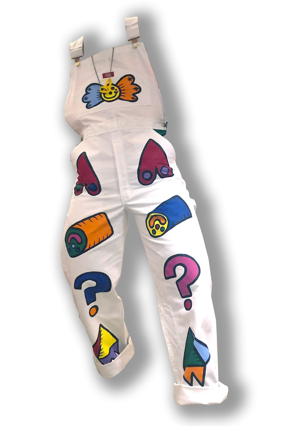 1-800-FASHIN : HAND PAINTED DICKIES OVERALLS