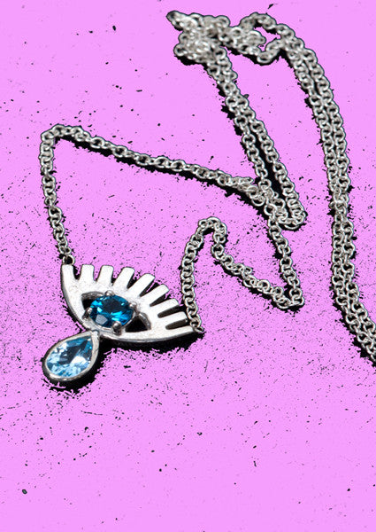 Crying Eye Necklace - Princess Baby