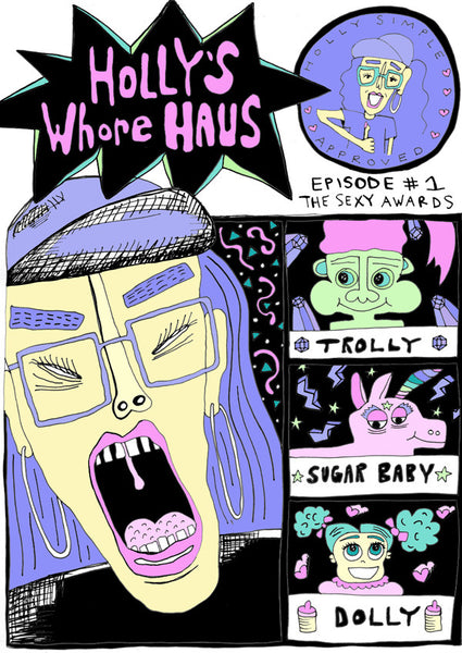 HOLLY'S WHORE HAUS EPISODE 1: THE SEXY AWARDS - COMIC BOOK