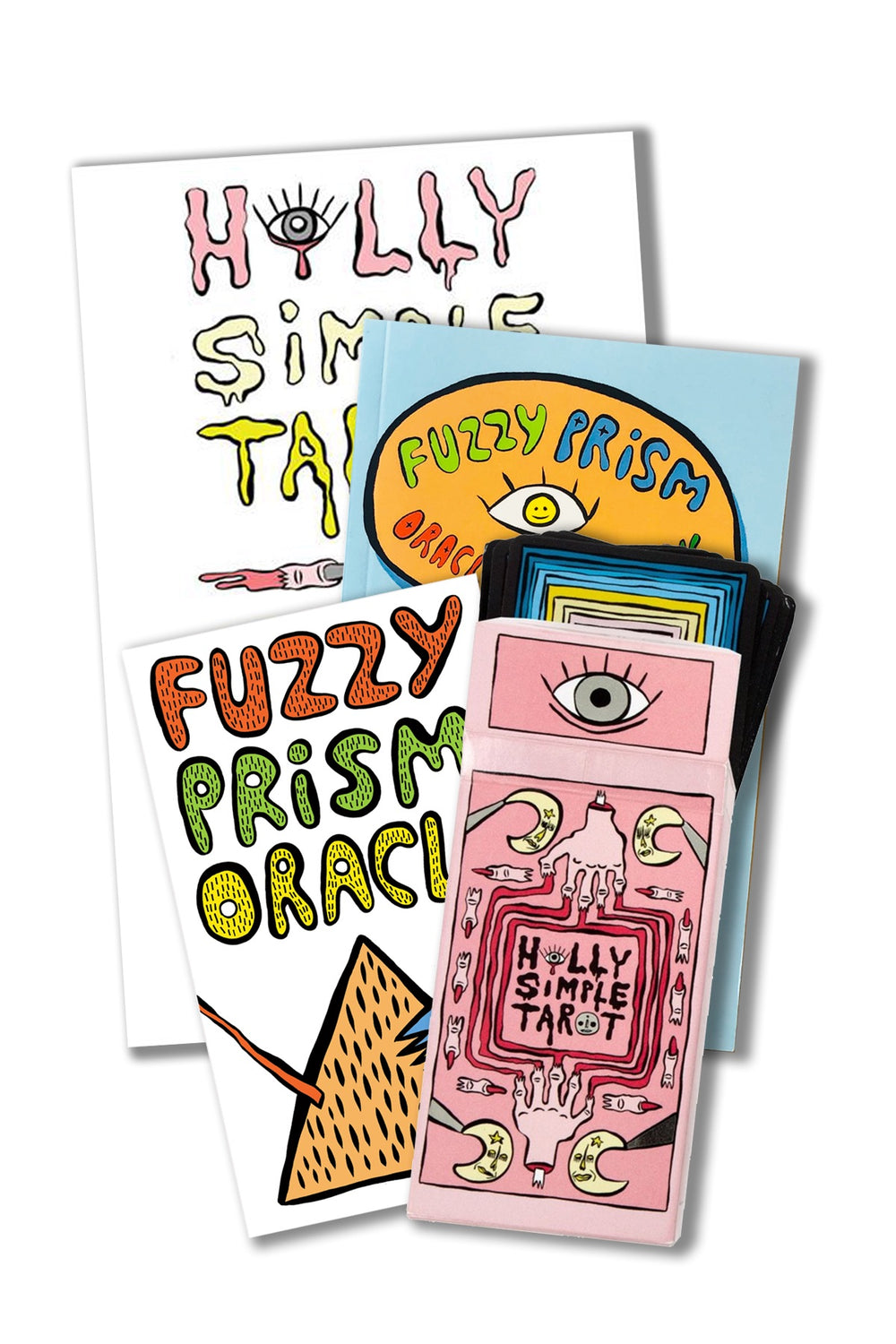 HOLLY SIMPLE TAROT AND FUZZY PRISM ORACLE MASTER PACK (PREORDER WITH NEW TAROT DECK)
