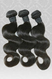 100% RAW Unprocessed Indian Body Wave Virgin Remy Human Hair Extensions