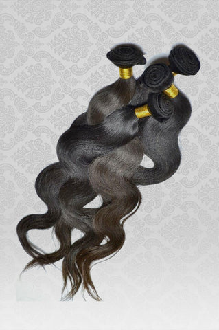 100% RAW Unprocessed Malaysian Body Wave Virgin Remy Human Hair Extensions
