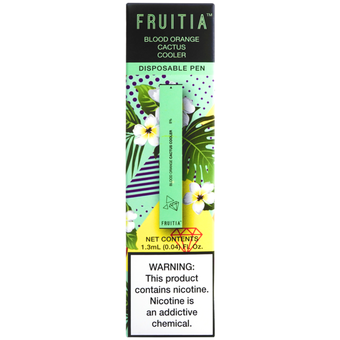 Fruitia Disposable Pen - Blood Orange Cactus Cooler