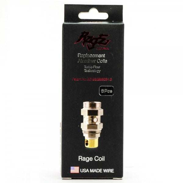 Rage Itsuwa Replacement Atomizer Coils 0.5ohm 5 pack
