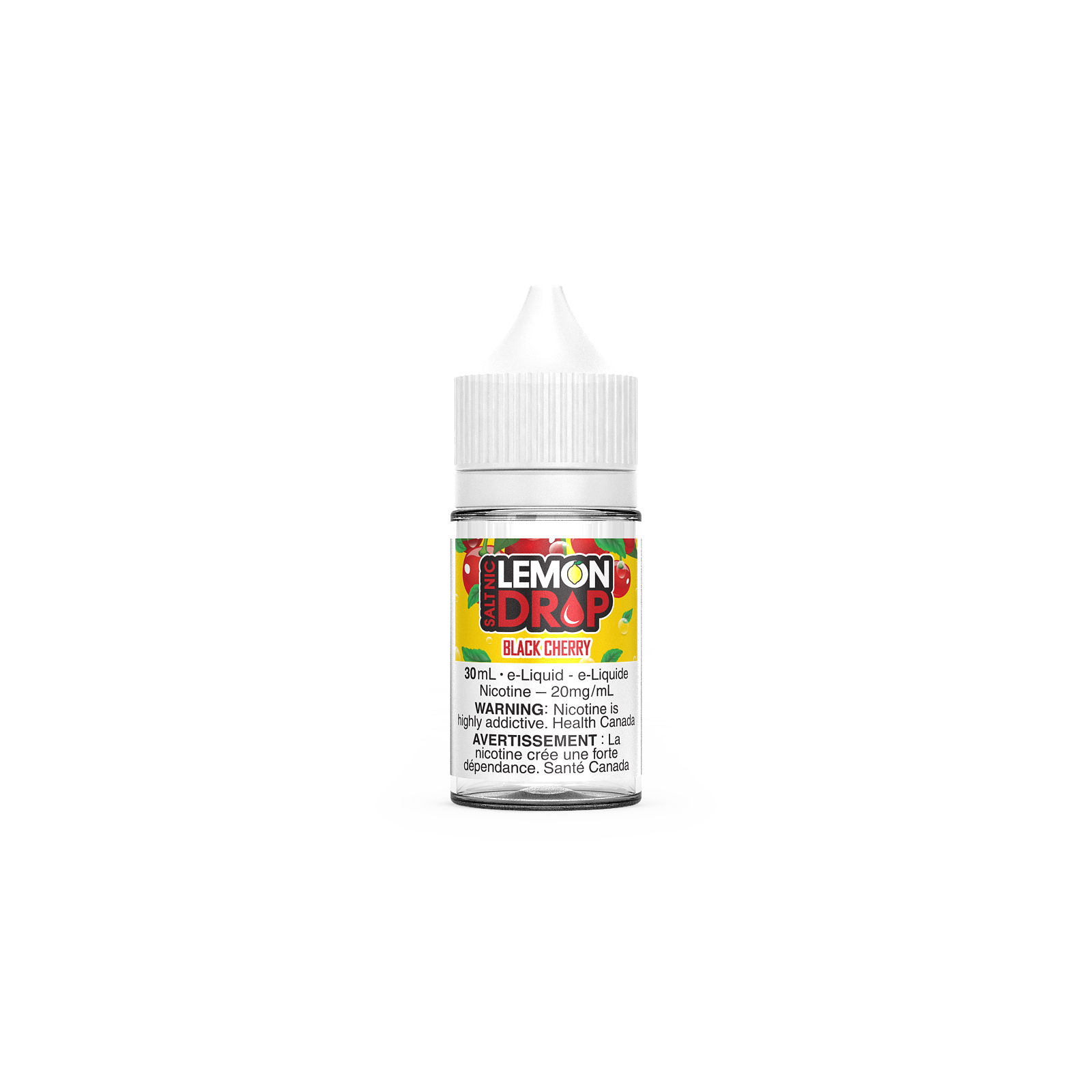 Lemon Drop Salt - Black Cherry 30ml