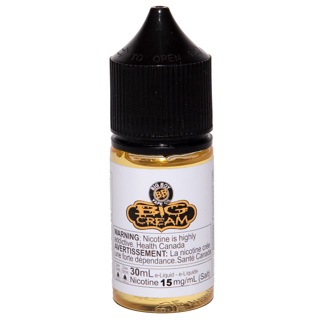 Big Boy Salt - Big Cream 30mL