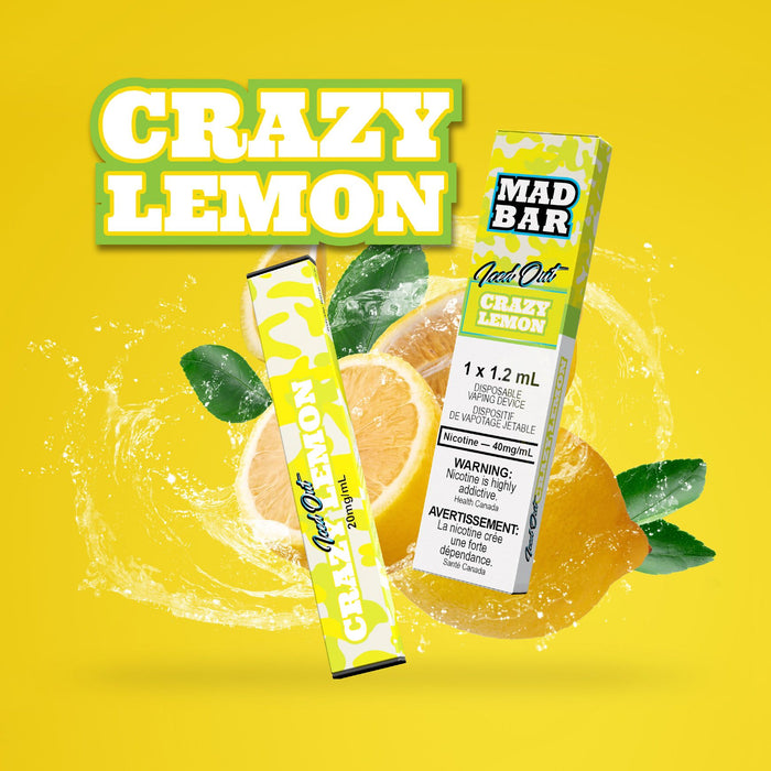 Mad Bar Disposable - Lemon Iced