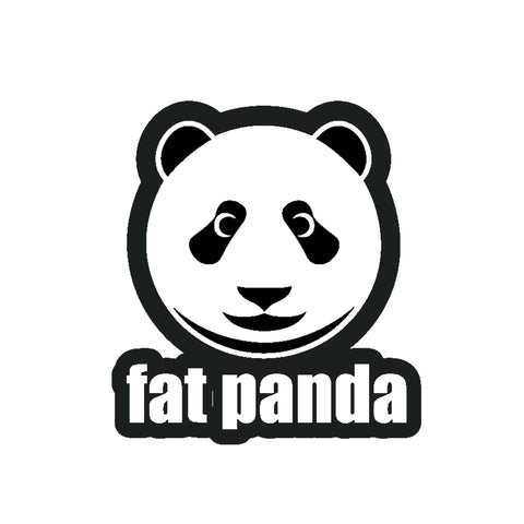 Fat Panda Logo Sticker