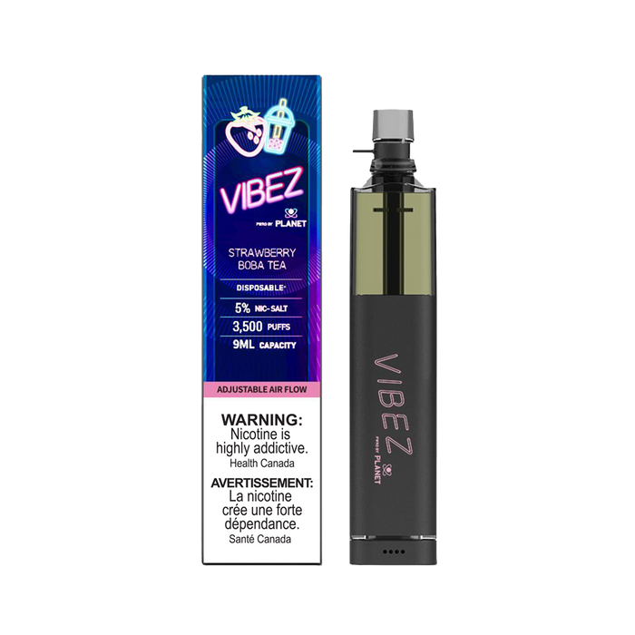 Vibez Disposable - Strawberry Boba Tea 50mg