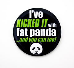 Fat Panda Buttons/Pins