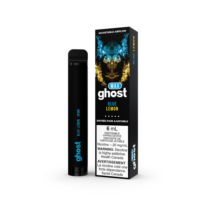 Ghost Max Disposable - Blue Lemon