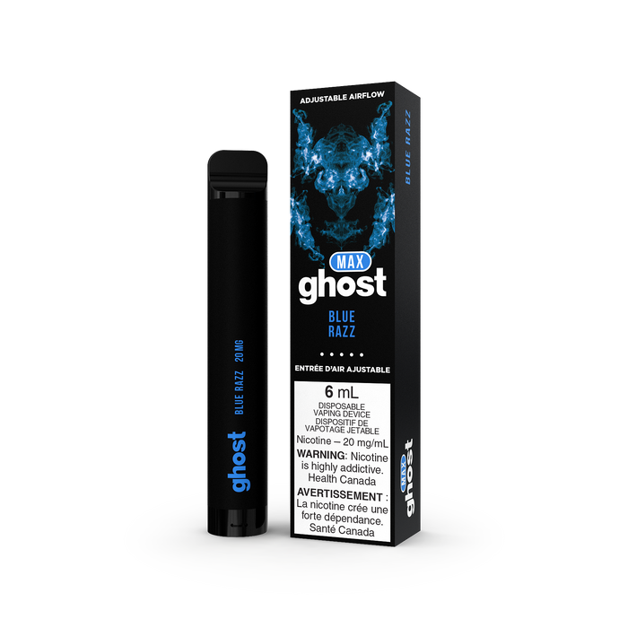 Ghost Max Disposable - Blue Razz