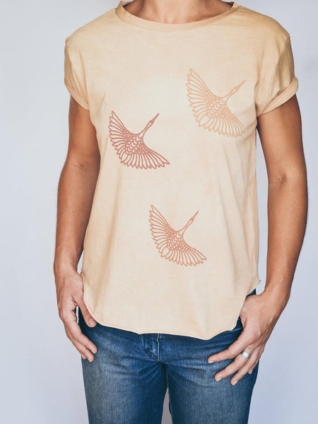 Fly Away Home Tee - 3 Colors To Choose From