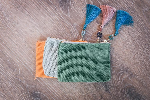 Hawaa Woven Purse - 3 Colors To Choose From
