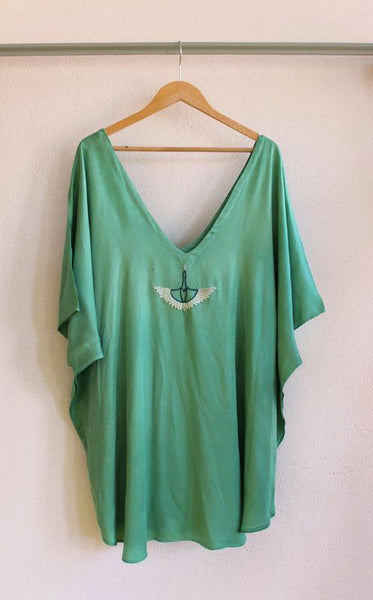 Kas Kaftan Short-Length W/ 2 Colors To Choose From