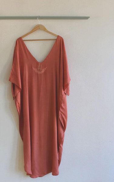 Kas Kaftan Long Length W/ 2 Colors To Choose From