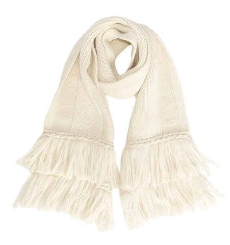 Laurier Scarf - Soft Tan