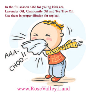 Flu Season, Kids and Essential Oils
