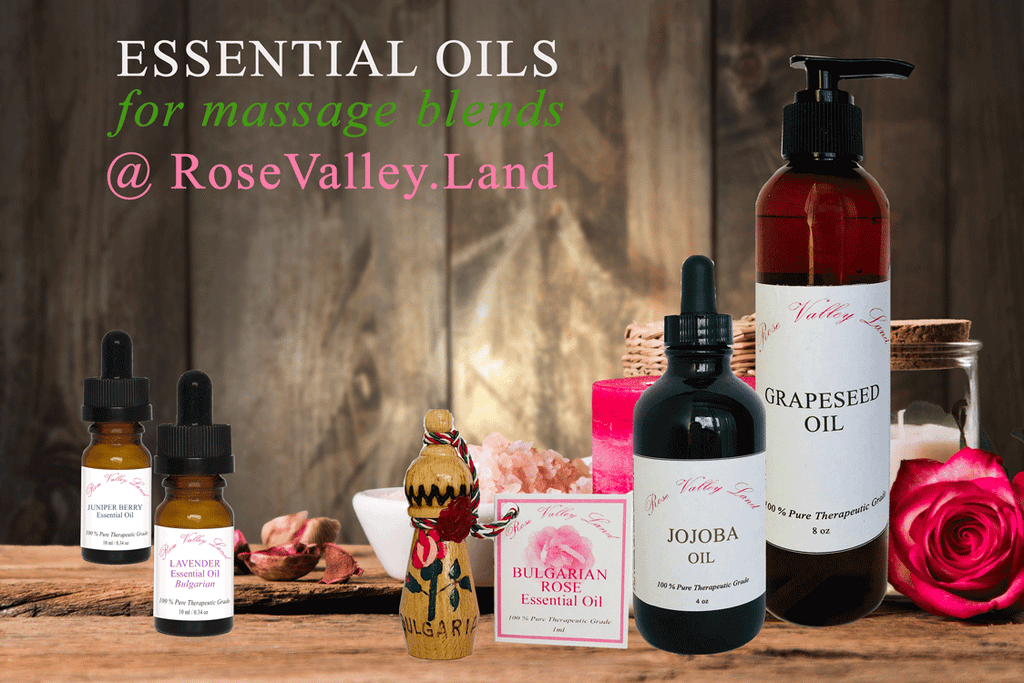 Making your massage oils blends - helpful tips and recipes