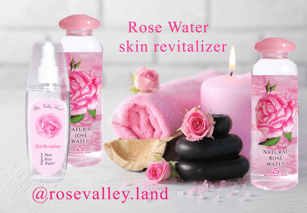 Why is the Natural Rose Water great skin revitalizer?