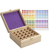 Essential Oil Wooded Box Organizer