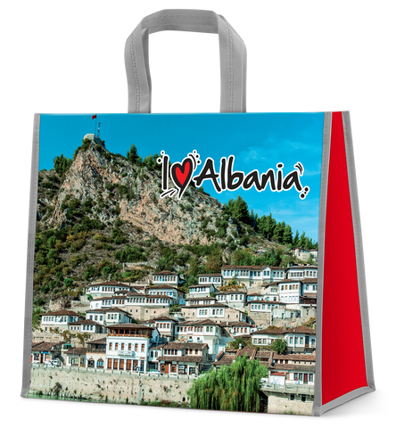I love Albania shopping bag