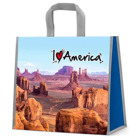 I love America shopping bag