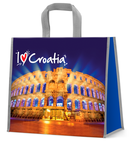 I love Croatia shopping bag
