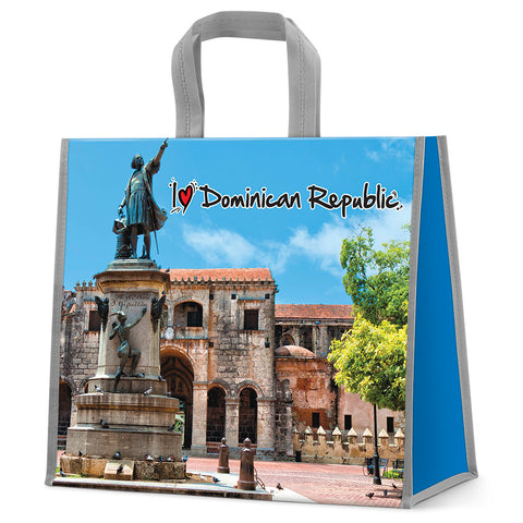 I love Dominican Republic shopping bag