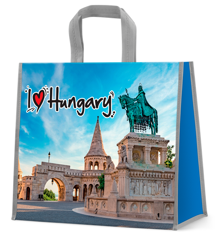 I love Hungary shopping bag