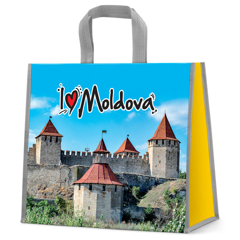 I love Moldova shopping bag
